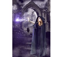 The Spell is Cast Photographic Print