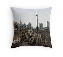 Downtown 2 Throw Pillow