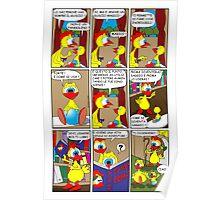 "Rick the chick  ""THE MAGIC SHELL (ITALIANO) parte 7"" Poster"