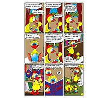 "Rick the chick  ""THE MAGIC SHELL (ITALIANO) parte 7"" Photographic Print"
