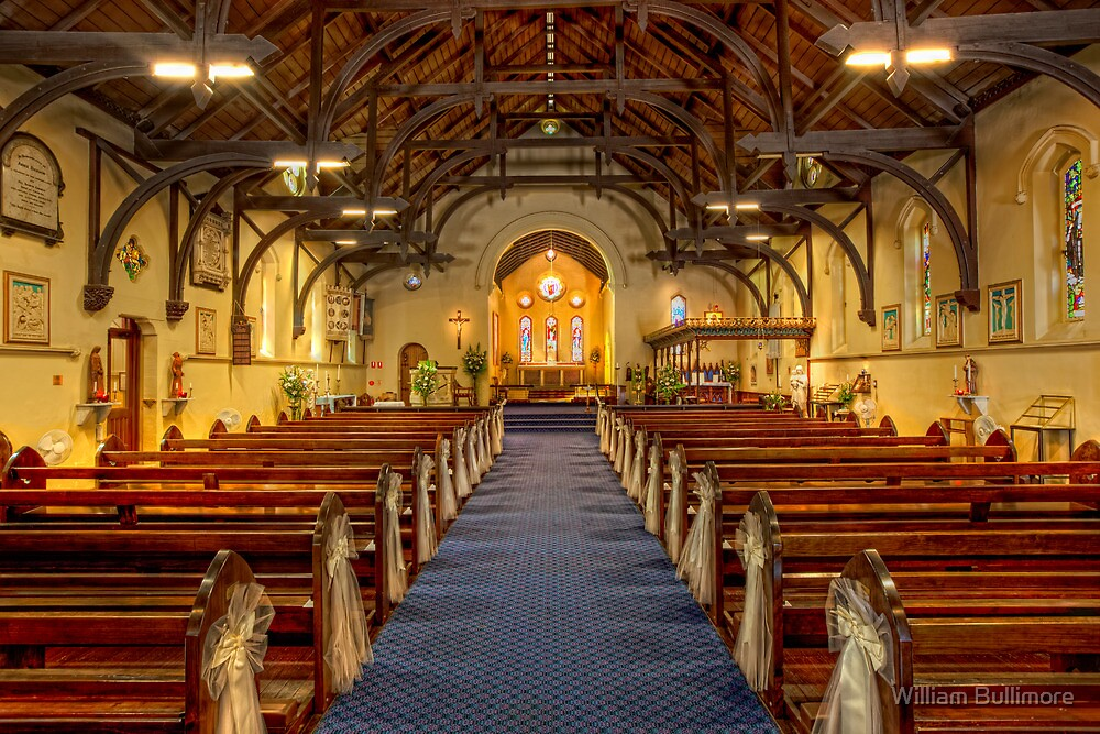 All Saints Anglican Church • Brisbane • Australia by William Bullimore