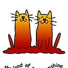 Sunshine Cats by Anny Arden