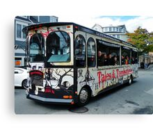 Tales and Tombstone Bus Canvas Print