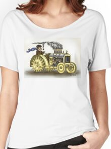 Steampunk Tractor Women's Relaxed Fit T-Shirt