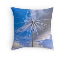 Scottish Wind! Throw Pillow