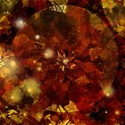 Autumn Leaves Abstract by Grant Wilson