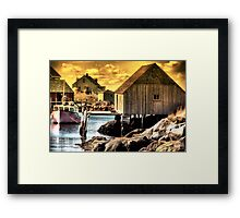 Striking Gold Framed Print