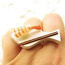 Fried Shrimp Sushi by souzoucreations
