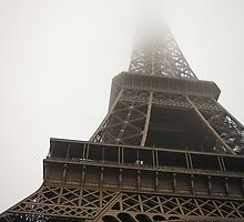 Eiffel In The Mist by Alexandra Lavizzari