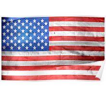 America USA United States Flag Poster