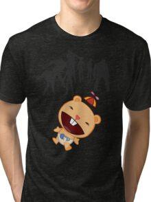 Happy Tree ZOMBIES Tri-blend T-Shirt