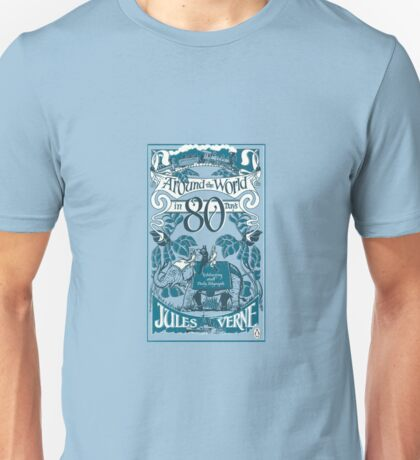 Around the World in Eighty Days Unisex T-Shirt