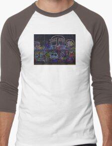 GRAFFITI ART DESIGN Men's Baseball ¾ T-Shirt