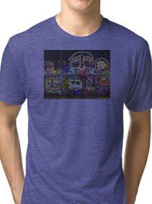 GRAFFITI ART DESIGN Tri-blend T-Shirt