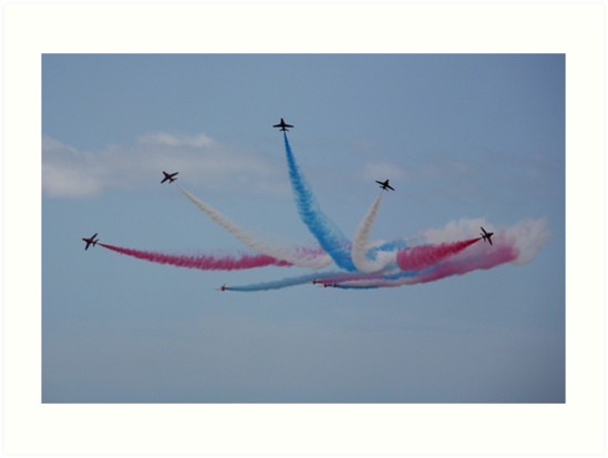 The Red Arrows burst out by Tony Steel