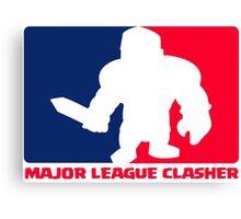 Major League Clasher Canvas Print