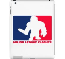 Major League Clasher iPad Case/Skin