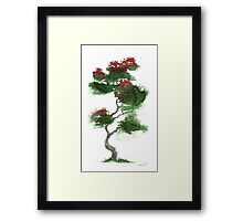Little Zen Tree 378 Framed Print