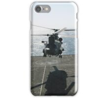 CHINOOK AT SEA iPhone Case/Skin