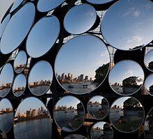 Golden Casket Mirror Ball by Iconphotos