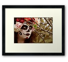 Insanity merging with grace Framed Print