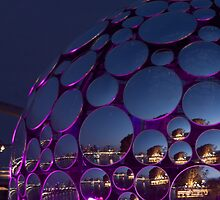 Mirror Ball Aglow by Iconphotos
