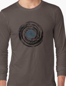 Old Vinyl Records Urban Grunge V2 Long Sleeve T-Shirt