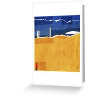 Wide Open' Greeting Card
