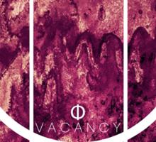 Vacancy - Dark Waters - Red Sticker