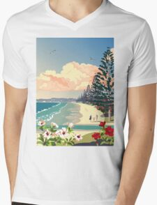 Orewa Beach, New Zealand Mens V-Neck T-Shirt