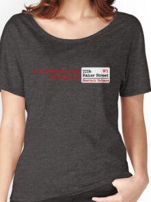 Lost Sherlock? Women's Relaxed Fit T-Shirt