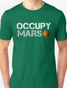 Occupy Mars Black T-Shirt