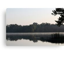 Misty Reflections - Alabama River Canvas Print