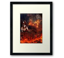 The Demise of a Puppet Framed Print