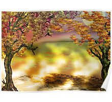 Autumn Tree Print Poster