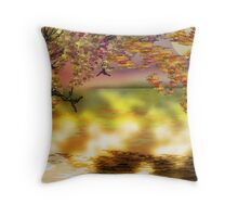 Autumn Tree Print Throw Pillow
