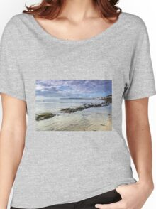 Lyme Regis Seascape - October Women's Relaxed Fit T-Shirt