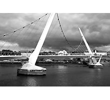 Peace Bridge, Derry, N. Ireland Photographic Print