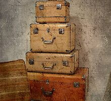 My bags are packed... © by Dawn M. Becker