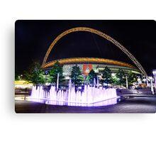 Wembley Stadium & Fountain Canvas Print