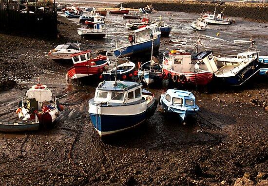 Awaiting High Tide by Trevor Kersley