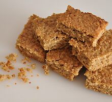 Flapjack that doesn't break your teeth  by Kyoko Beaumont