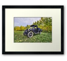 Antique Truck Framed Print