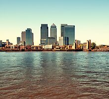 Canary Wharf, London. by fineartphoto1