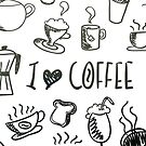 I Love Coffee by taiche