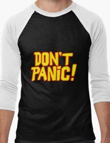 Hitchhiker's Guide v01 Men's Baseball ¾ T-Shirt