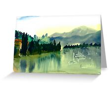 Lake Como, Italy Greeting Card