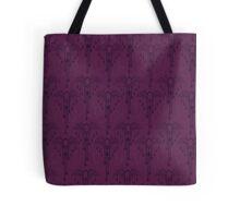 Purple Bats Tote Bag