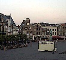 """""""Streetscape - Harskamp, Gelderland, Netherlands"""" by Michelle Lee Willsmore"""