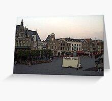 """""""Streetscape - Harskamp, Gelderland, Netherlands"""" Greeting Card"""